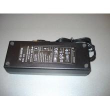 Адаптер 12V 10A Пластик + кабель (1 шт.)