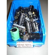Конденсатор  демонтаж 150 Mf 400 V (1 шт.) 150 400 #стенд