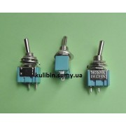Тумблер MTS-101 двухфазный (on-off), 2 pin, 3A 250V AC