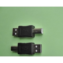 Переходник штекер USB А на штекер USB B AM/BM