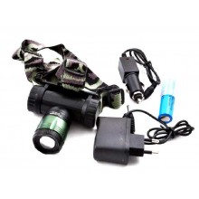 Налобный фонарик Police 30000W BL- 6951