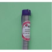 Припой Cynel с флюсом в колбе Sn-60 / Pb40, 16 грамм, сечение 1 мм