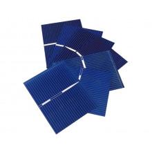 Солнечная панель кремниевая поликристаллическая 0.12 Вт 0.5 В 0.24A 39*19 мм  (1 шт.) #N26