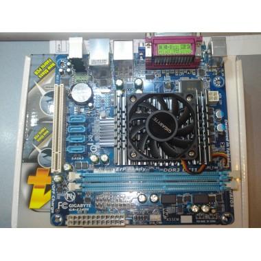 Материнская плата Gigabyte GA-E240N (AMD E-240, AMD A45, PCI) новая, в заводской упаковке