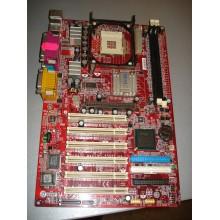 Материнская плата MSI MS-6566E 845E MAX Socket478 (Socket 478) б/у