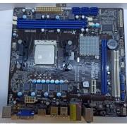 Материнская плата ASRock A55M-HVS (sFM1, AMD A55, PCI-Ex16)  б/у