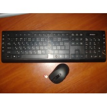 Беспроводной комплект A4Tech клавиатура GD-600 и мышь G10-65OH Б/У