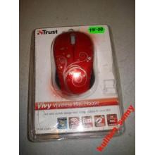 Беспроводная мышь Trust Vivy Wireless Mini Mouse Red