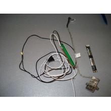 Веб-камера, антена, USB на колодка ноутбука Asus X54H б/у