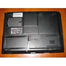 Корпус нижняя часть в сборе Asus X50N series нижняя часть, крышка HDD и DDR, верхняя часть с тачпадом б/у