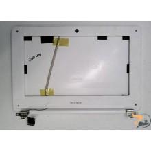 Для планшета DENVER 10.1: нижня частина корпуса, рамка матриці, петлі та шлейф матриці с веб-камерою, Б/В