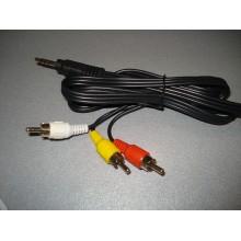 Кабель аудио видео mini Jack 3.5 mm - 3 RCA (1.5m) AV 3rca-jack
