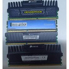 Оперативная память DDR3 4GB б/у 1600мгц в радиаторе