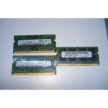 Оперативная память ноутбучная SODIMM DDR3 4Gb 1333МГц б/у
