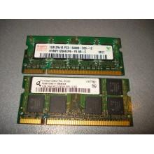 Оперативная память ноутбучная SODIMM DDR2 1GB б/у