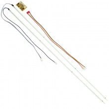 LED планка лампа подсветки мониторов универсальная 19-24 дюйма 2 штуки с драйвером