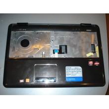 Корпус нижняя часть в сборе Asus K50AB series нижняя часть, крышка HDD и DDR, верхняя часть с тачпадом б/у