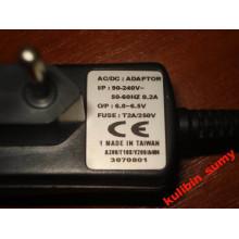 Адаптер питания 6.0 - 6.5V (1шт)