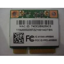 Адаптер wifi для ноутбука Anatel Atheros ATH-AR5B95 2.4 ГГц 150 Мбит/с mini PCI-E (half) (б/у)