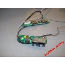 Разъем питания, LAN и USB MSI L715 MS1036B б/у