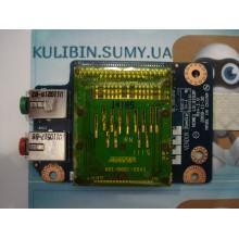 Плата картридер + аудио для ноутбуков Lenovo серии G550/565 б/у