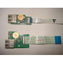 2 шлейфа USB для ноутбука HP Pavilion DV6 б/у