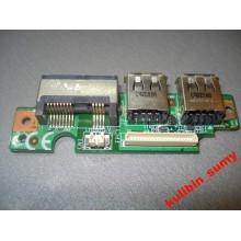 Плата расширения USB, LAN, Modem MSI GX600X MS-163A б/у