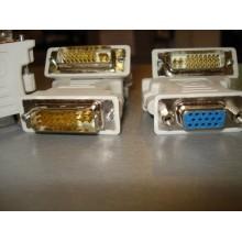 Переходник DVI-VGA (полный 24+5 pin)