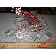 Вентилятор бескорпусный для видеокарты 6.5 см 2pin 12V
