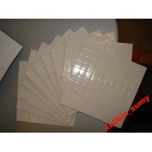 Термопрокладка силиконовая белая (1 шт. ) 10*10*1мм 1:77