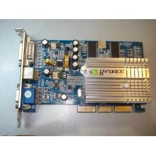 Видеокарта GeForce FX5500 AGP 256MB 128Bit б/у