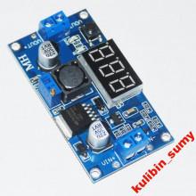 Регулируемый модуль питания понижающий LM2596+вольтметр (1 шт.) #1:41