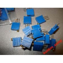Подстроечный многооборотный резистор 100 Ом (1 шт.)