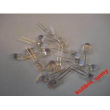 Светодиод 5 мм LED белый (1 шт.)