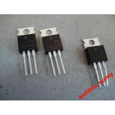 Транзистор биполярный TIP42C P-N-P 100V 6A (1 шт.) #A7