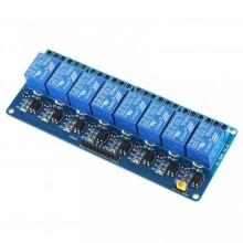 8-канальный модуль реле 5V для Arduino PIC ARM AVR (1 шт.)