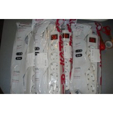 Сетевой удлинитель Defender S550 5.0 m 5 раз switch white