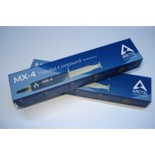 Термопаста Arctic MX-4, теплопроводимость 8.5 Вт/мК, серая, в шприце, 8 грамм