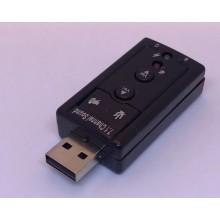 Звуковая карта 7.1-CH USB 2.0