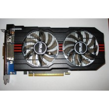 Видеокарта Asus PCI-Ex GeForce GTX 650 Ti 1Gb DDR5 128Bit  б/у
