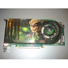 Видеокарта Point of View GeForce 8800 GTS 575Mhz PCI-E 640Mb 1800Mhz 320 bit 2xDVI б/у