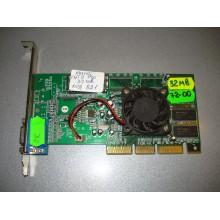 Видеокарта Manli TNT2 Pro 32Mb AGP б/у