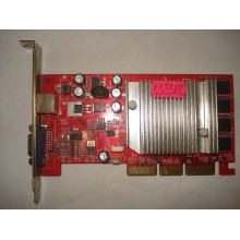 Видеокарта GeForce FX 5200 AGP 128Mb 64-bit TV б/у