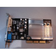 Видеокарта Inno3D GeForce FX 5200 AGP 128Mb 400Mhz 128 bit DVI бу