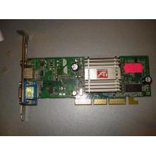 Видеокарта Radeon 9200 AGP 128MB 64BIT б/у