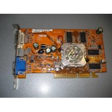 Видеокарта Asus Radeon 9550 128Mb 128bit V/D/VO бу