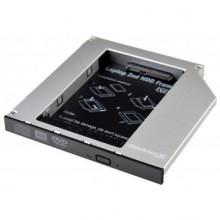 Фрейм-переходник Grand-X HDD 2.5'' to notebook ODD SATA/mSATA HDC-25 (HDC-25 /TITH5A) #Арт.4350