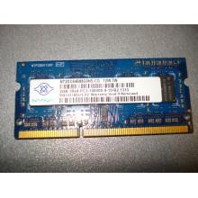 Оперативная память ноутбучная SODIMM DDR3 2 Gb Nanya 2GB (1 шт.) б/у
