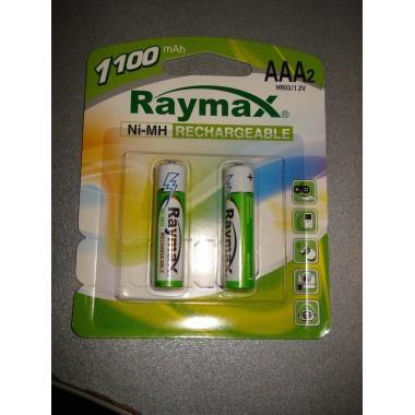 Аккумулятор Raymax HR03 1100mAh AAA (2 шт.)